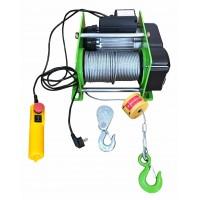 Лебедка электрическая JK (500/1000кг, 220В, канат 60/30м)
