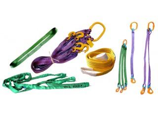 Виды текстильных строп и область их применения