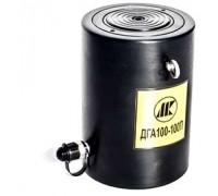 Домкраты алюминиевые гидравлические с пружинным возвратом ДГА100-150П (100т, ход 150мм)