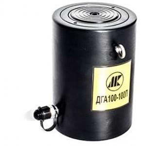 Домкраты алюминиевые гидравлические с пружинным возвратом ДГА200-100П (200т, ход 100мм)