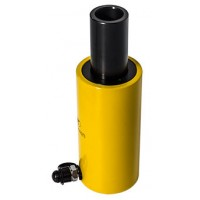 Домкрат гидравлический с полым штоком с пружинным возвратом ДП20-50П (20т, ход 50мм)