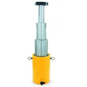 Домкрат гидравлический телескопический ДТ15-510М (16/45/102т, ход 435мм)