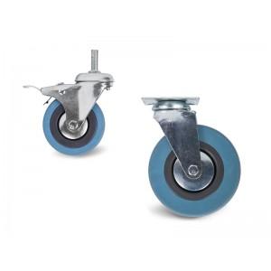 Колесо аппаратное поворотное (SCg 25) 50мм