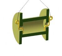 Захват торцевой для барабанов тип ЗТБ-3-1,0/2,0
