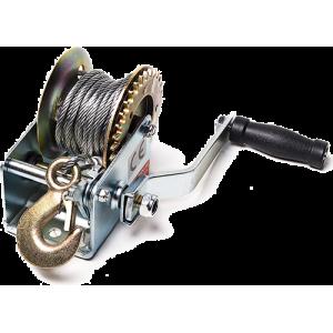 Лебедка ручная TOR ЛФ-1200 (FD) г/п 0,5 т, длина троса 10 м