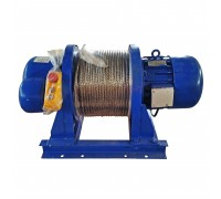 Лебедка электрическая KCD 1000/2000кг, 380В, 60/30м