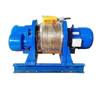Лебедка электрическая KCD 1500/3000кг, 380В, 30/15м