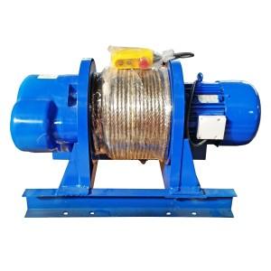 Лебедка электрическая KCD 1500/3000кг, 380В, 60/30м