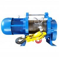 Лебедка электрическая KCD 750/1500кг, 380В, 100/50м