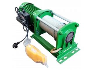 Видео отгрузки лебедки электрической KCD 500/1000кг 220В 100м