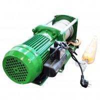 Лебедка электрическая KCD-A 500/1000кг, 220В, 100/50м